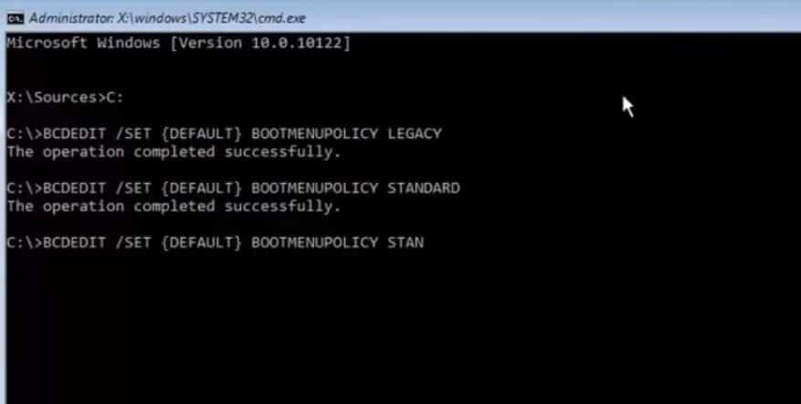 x windows system32 safe mode