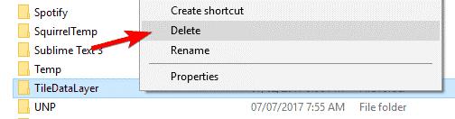 delete username