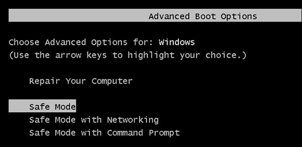 How to Boot Windows 10 Into Safe Mode When F8 Is Disabled