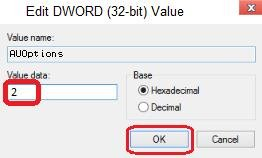 dword 32-bit value data to 2