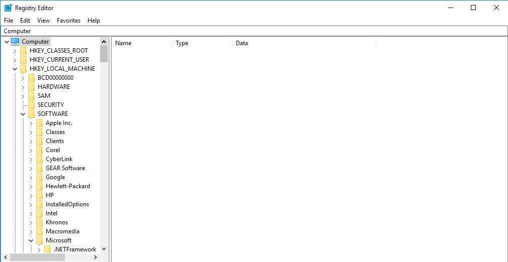 software folder