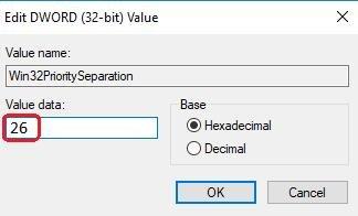 edit value data