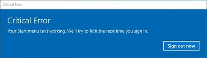 How to Fix a Windows 10 Critical Error