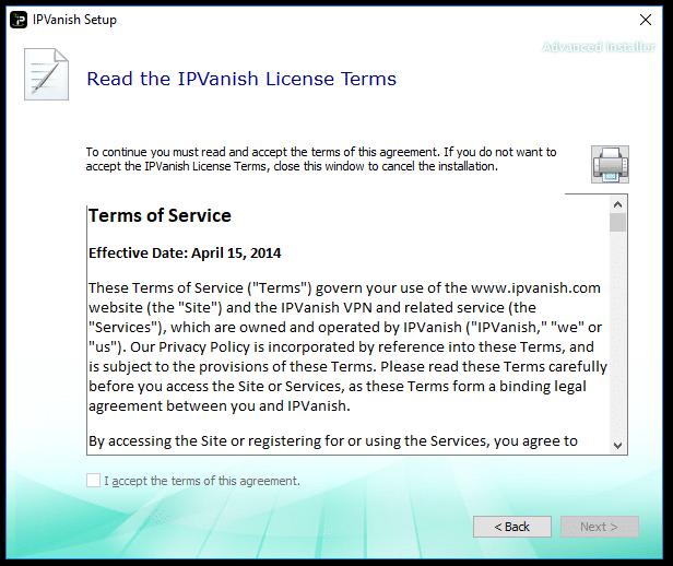 IPVanish Install 2