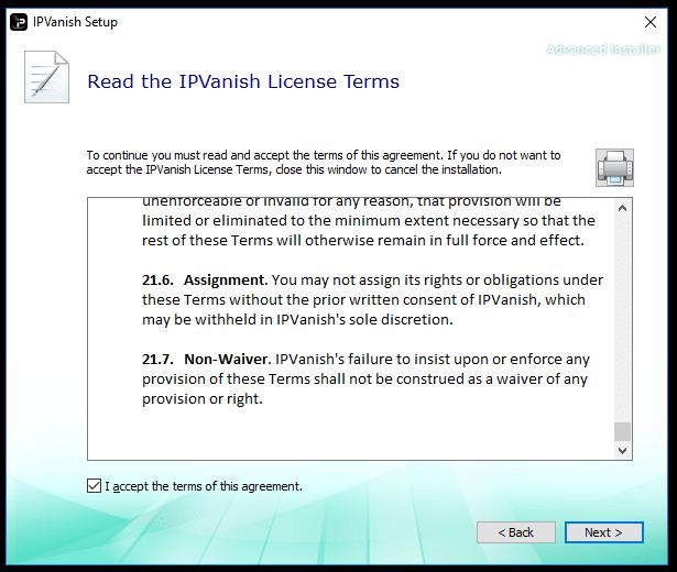 IPVanish Install 3