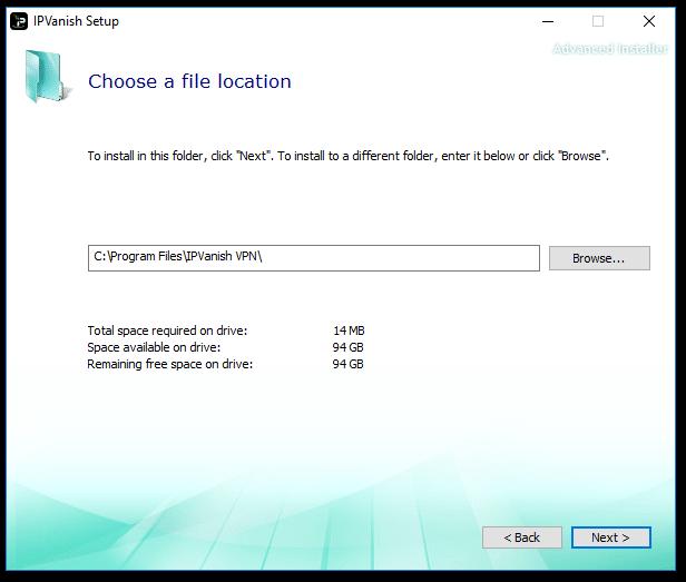 IPVanish Install 4