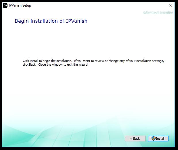 IPVanish Install 5