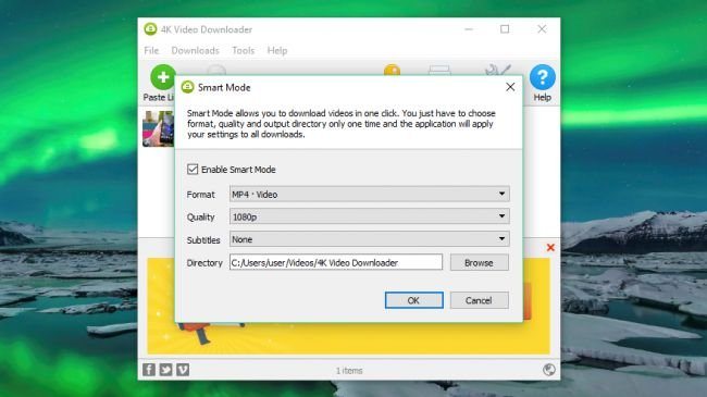 Navigate 4k video downloader smart mode