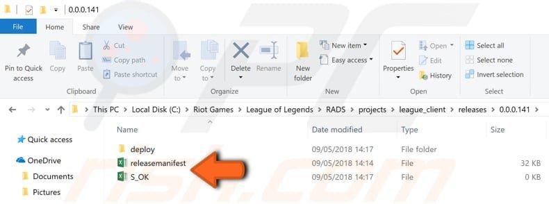 Navigate Release Directory