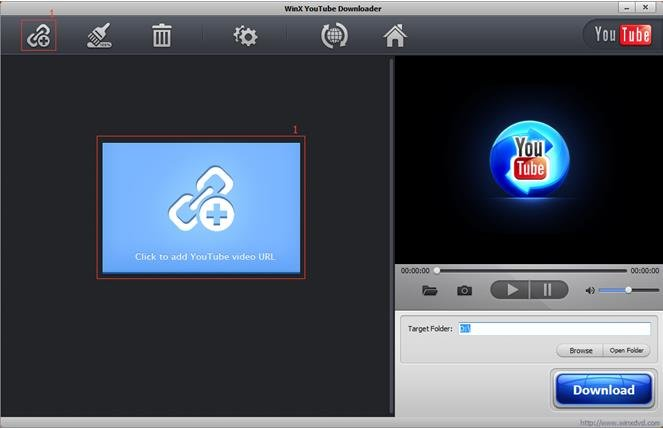 Navigate Winx Youtube Downloader - Chain link