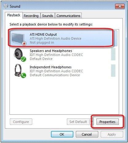 ATI HDMI Output