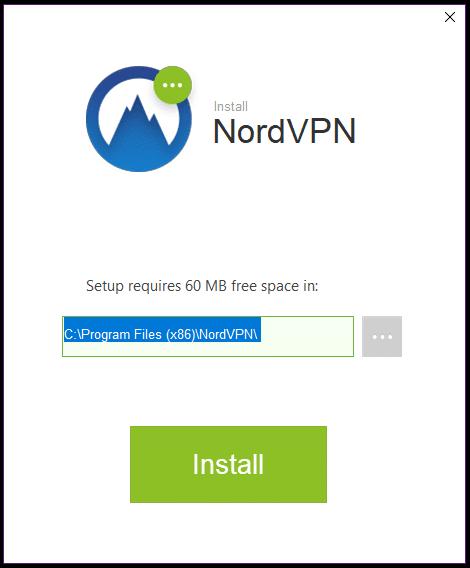 NordVPN Install 1