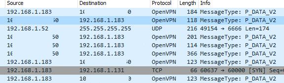NordVPN Wireshark