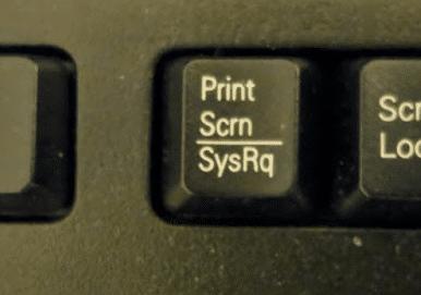 Print Scrn SysRq