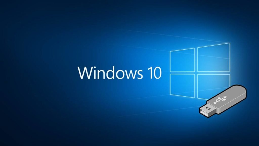 Windows 10 install USB