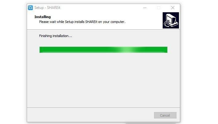 SHAREit installing