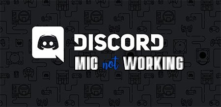 Discord Mic not Working Windows 10