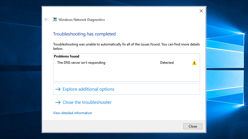 "How to Fix ""DNS Server not Responding"" on Windows 10"
