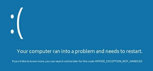 How to Fix KMODE Exception Not Handled Error on Windows 10