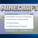 How to Fix Minecraft Not Responding on Startup