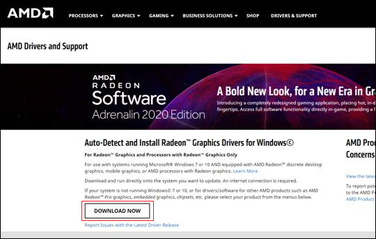 Download AMD Drivers and Support