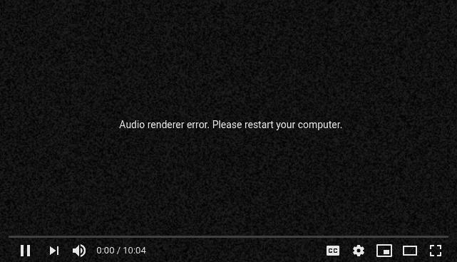 How to Fix Audio Renderer Error (Please Restart Your Computer)