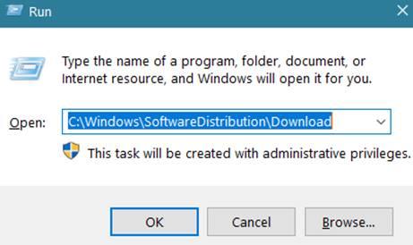 C:WindowsSoftwareDistributionDownload