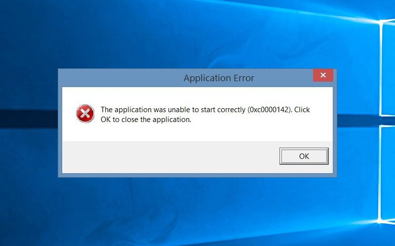 Fix: Application Unable to Start Correctly (Error: 0xc0000142)