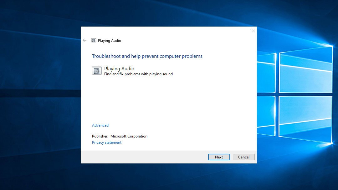 How to Use Audio Troubleshooter on Windows 10