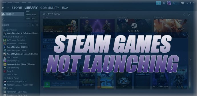 How to Fix Steam Games Not Launching
